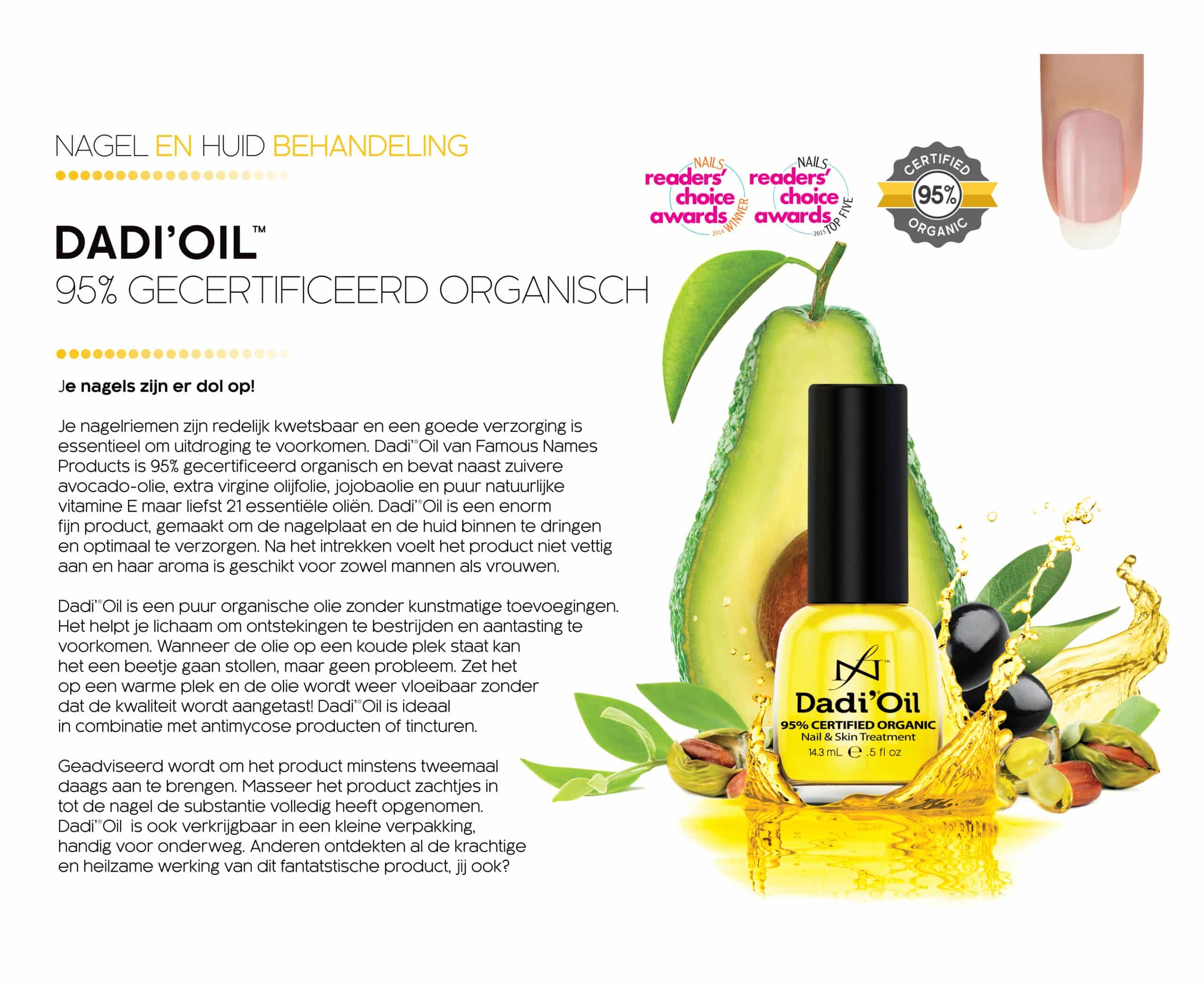 Nagelriemolie - Dadi Oil - Famous Names