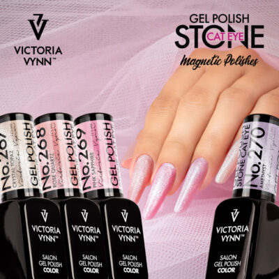 Salon Stone Cat Eye Gellak van Victoria Vynn