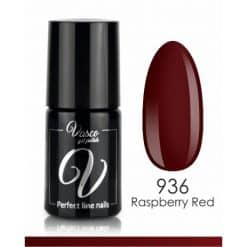 Vasco Gel Polish - 936 Raspberry Red - Rainbow Style