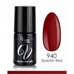 Vasco Gel Polish - 940 Spanish Red - Rainbow Style